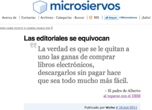 Microsiervos Editoriales