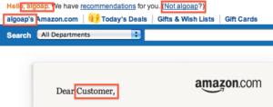 Amazon Cliente
