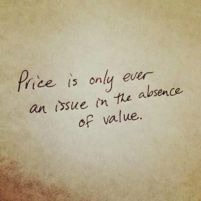 Valor, precio y seguros