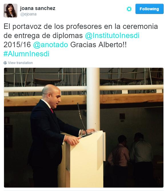 Inesdi Portavoz Profesores