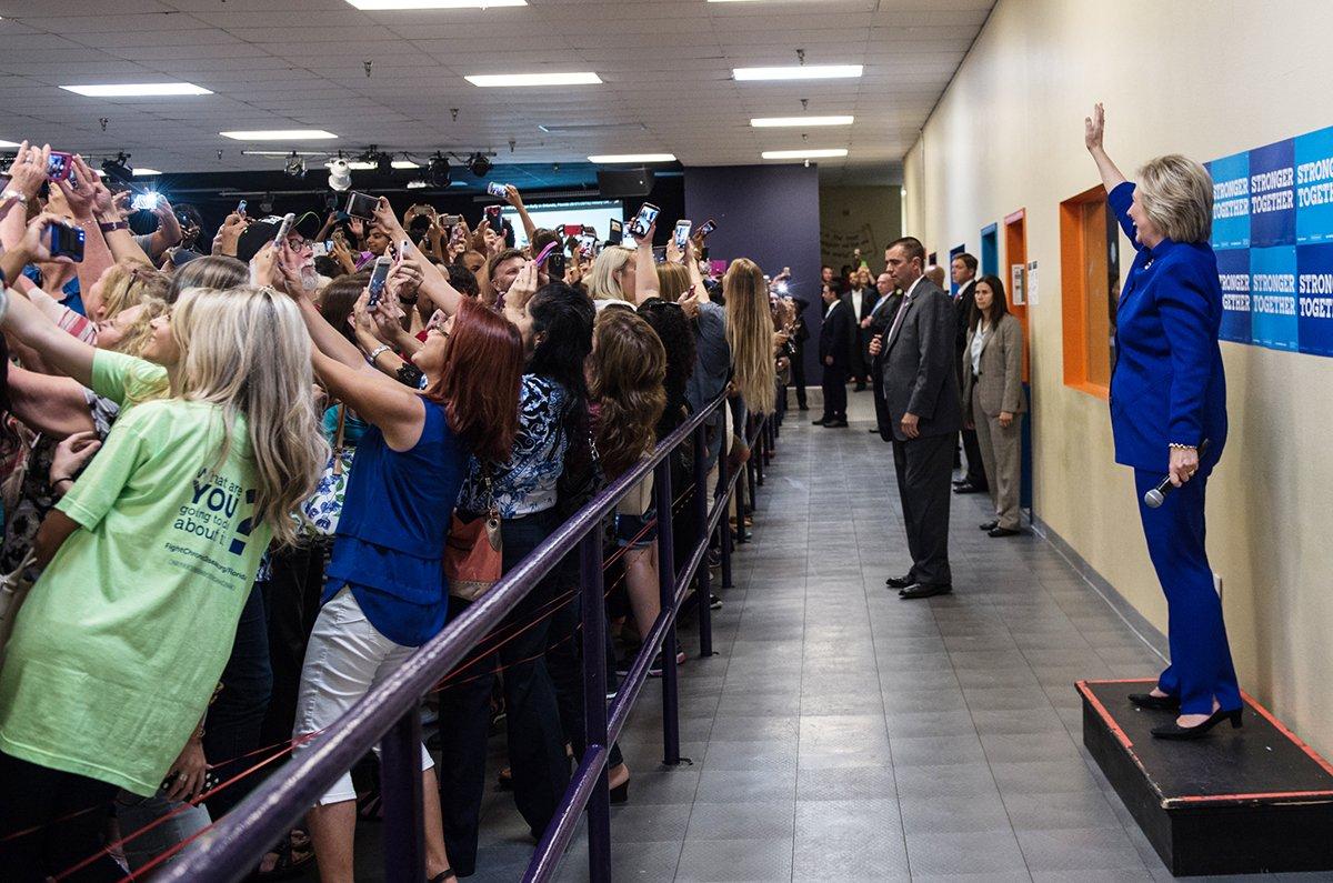 Selfie Hillary