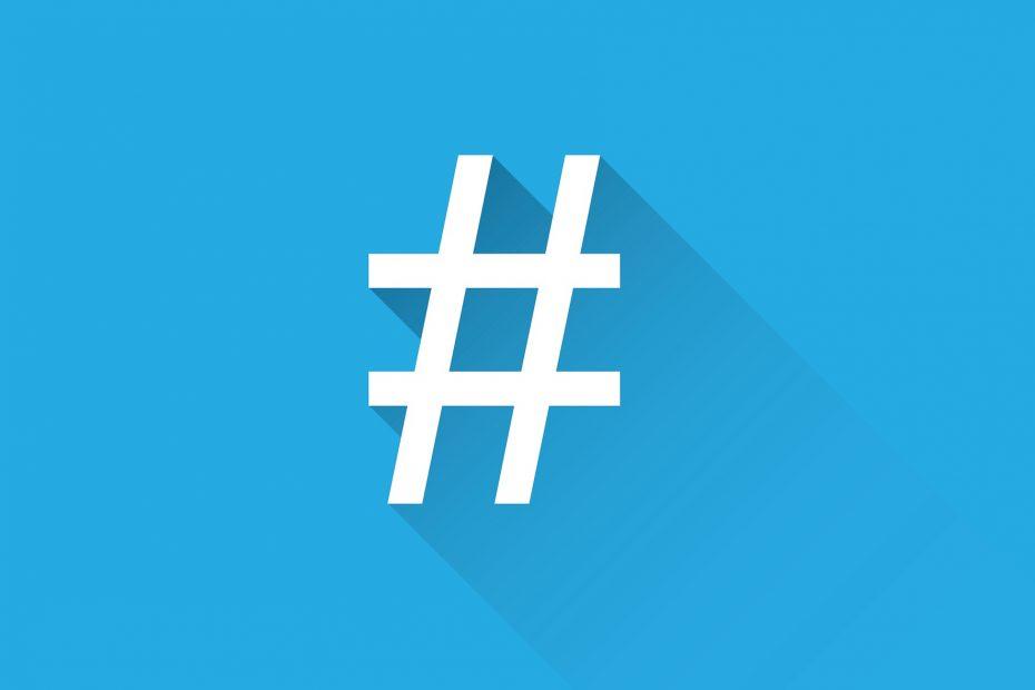 Etiqueta Hashtag Twitter